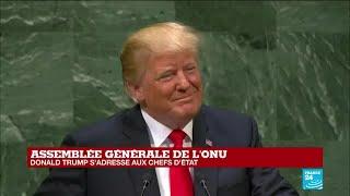 REPLAY - Discours de Donald Trump à l''Assemblée générale de l''ONU