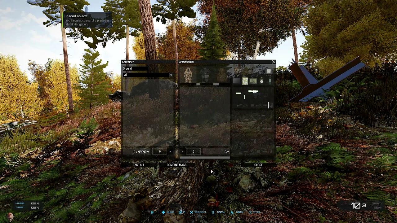 MGT Arma 3 Exile Mod rolling changelog