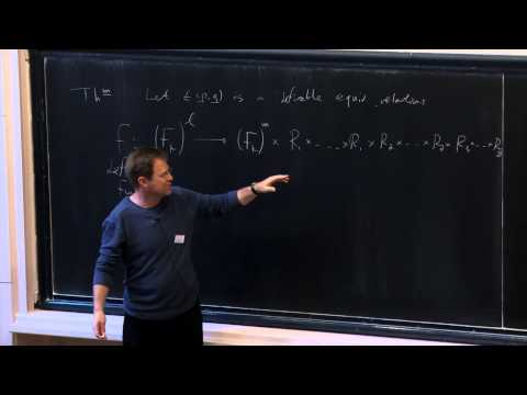 Zlil Sela - Envelopes and equivalence relations in a free group