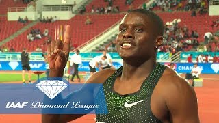 Christian Coleman: Blasting out the blocks - IAAF Diamond League