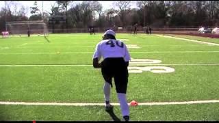 EAE Football Combine – Memphis, TN – Bryan Lewis II - WR