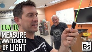 How to Measure Wavelength of Light with a Meter Stick - The Science of Light with Mr. G - Part 2