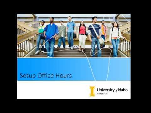 VandalStar - Setup Your Office Hours thumbnail