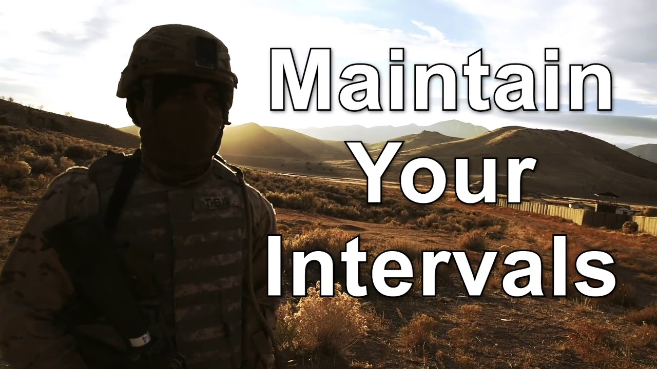 "As we see an increase in COVID-19 cases in Utah, it's important to follow current guidelines for social distancing, or as we say in the military, ""maintain your intervals"""