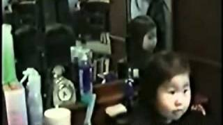 Ghost Girl in Mirror