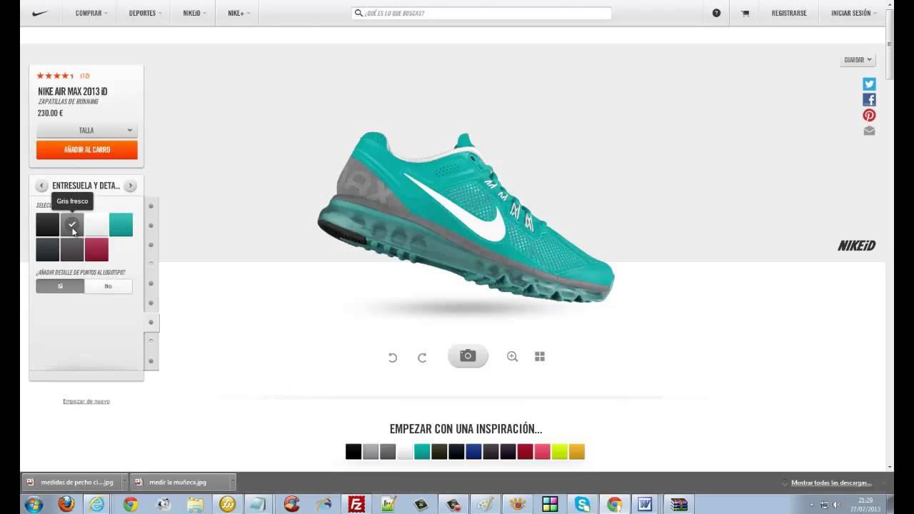 Personaliza Id Max Tus Air Nike 2013 L3Rj54Aq