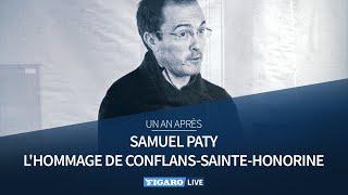 🔴Assassinat de Samuel Paty: revivez l'hommage à Conflans-Saint-Honorine