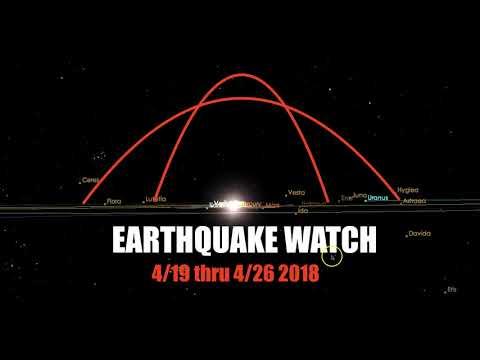 """Earthquake near Detroit - """"Earthquake Watch"""" 4/19 thru 4/26 2018"""