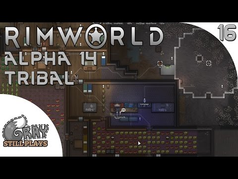 Rimworld Alpha 14 Tribal | The Calm Before The Storm, Orbital Trade Beacon Up! | Part 16 | Gameplay