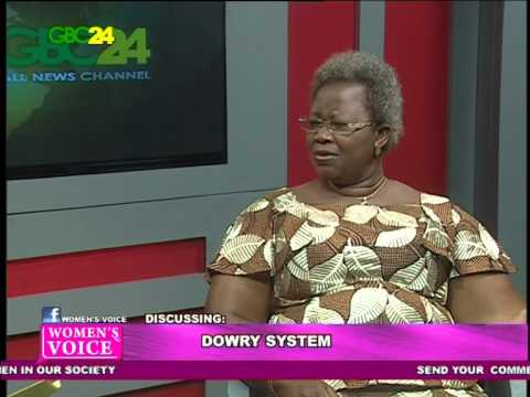 DOWRY SYSTEM- BY REBEKAH AWUAH