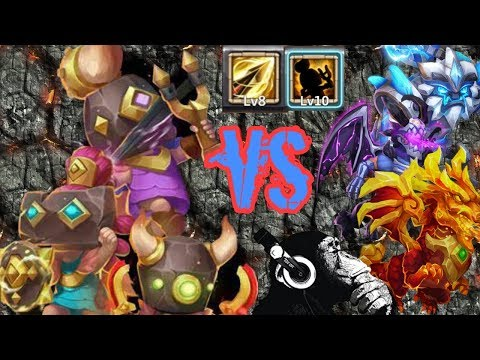 Rowdy Rascals | Zealous Drive | VS 15 Maxed Beasts | Castle Clash