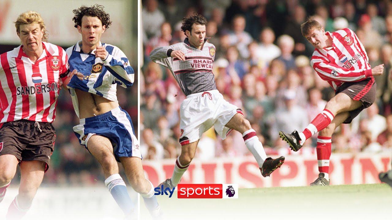 Manchester United Swap Kits at Half-Time?! 🤨 | Southampton 3-1 Man Utd, 1996 | PL Vault