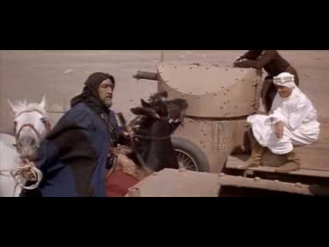 "Anthony Quinn en Lawrence de Arabia ""Auda"""