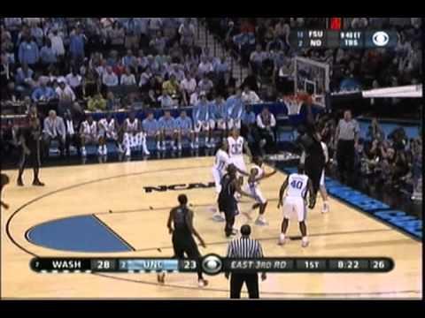 2011 NCAA Tourney #7 Washington Huskies vs. #2 North Carolina Tar Heels