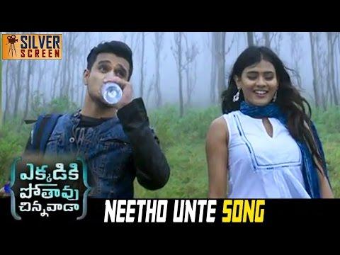 Ekkadiki Pothavu Chinnavada Movie Neetho Unte Song | Nikhil | Hebah Patel | Nandita