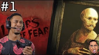 Layers of Fear   THIS GAME IS HELLA CREEPY! #1