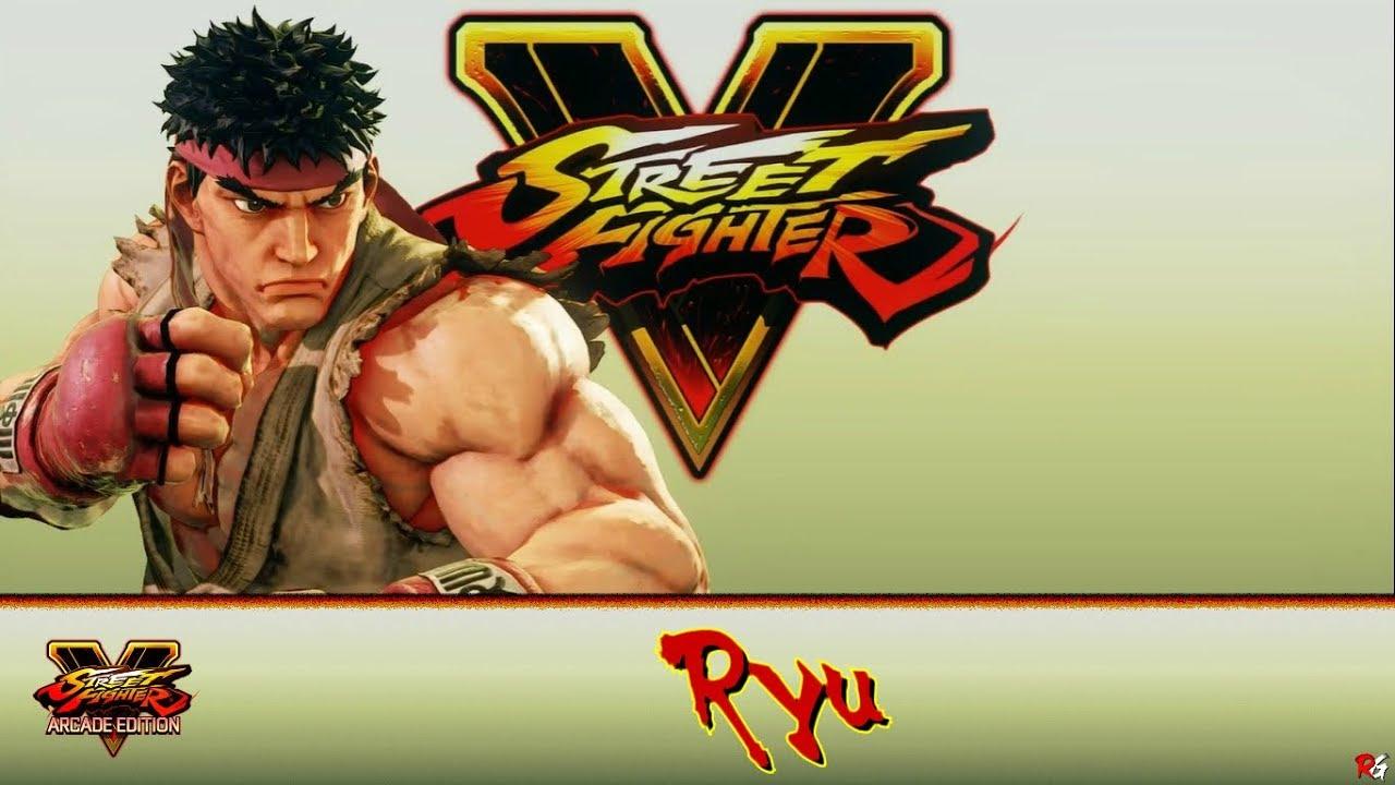 Street Fighter V Arcade Edition Street Fighter V Ryu