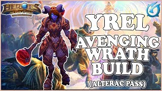 Grubby | Heroes of the Storm - Yrel - Avenging Wrath Build - Sub Game - Alterac Pass