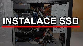 Výměna disku v mém počítači za SSD