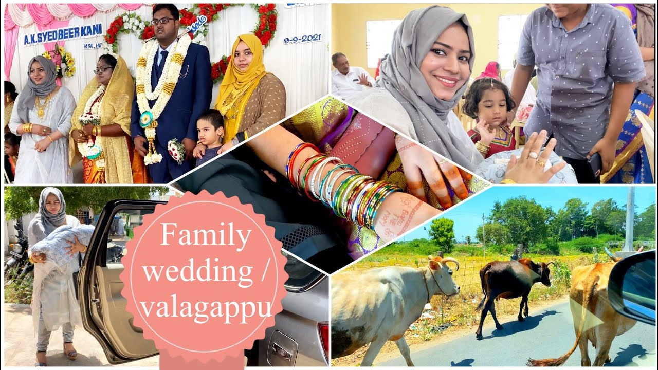 Hubby Family Wedding & Valagappu Vlog / Zulfia's Recipes / Tamil Vlog
