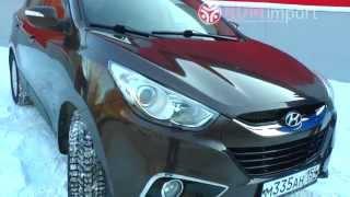 Hyundai ix35 левый руль 2010 год 2 л. 4WD АКПП металический шоколад от РДМ Импорт смотреть