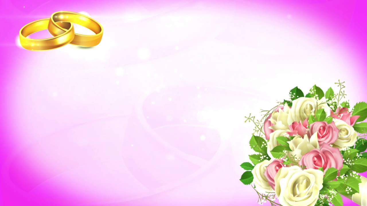 Flower Background Wedding Background Video Video Hd Motion Video