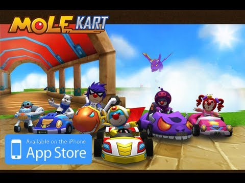 Mole kart gameplay mario cart for iphone ipod touch - Mario kart wii gratuit ...