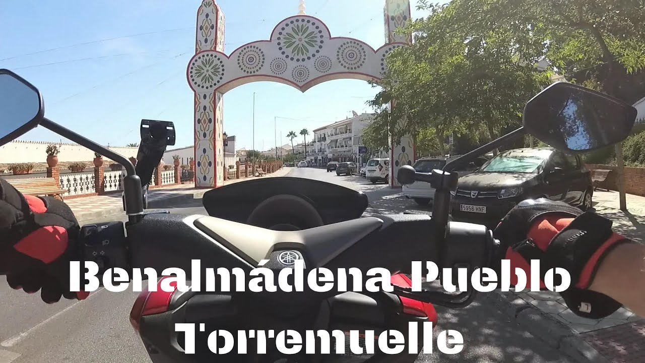 Benalmádena Pueblo, Spain - Down to the beaches (Torremuelle) and back