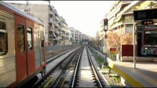Cabride metro of Athens Greece line 1