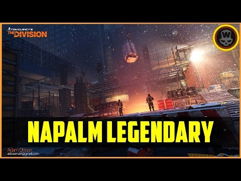 The Division - Napalm Production Site Legendary Mission