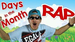 Gambar cover Days In The Month Rap | Helpful Calendar Song for Kids | Jack Hartmann