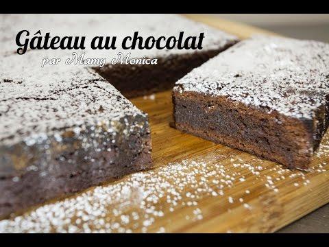 Recette du gâteau au chocolat par Mamy Monica