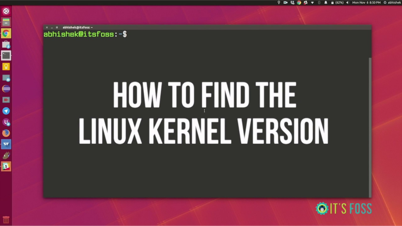 3 Ways to Check Linux Kernel Version in Command Line - It's FOSS