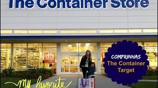 Comprinhas na The Container Store e Target: produtos organizadores + utensílios de cozinha