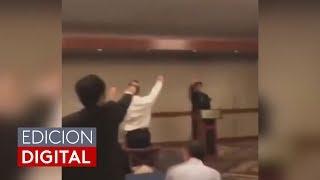 Desata indignación un video de estudiantes de secundaria haciendo un saludo nazi