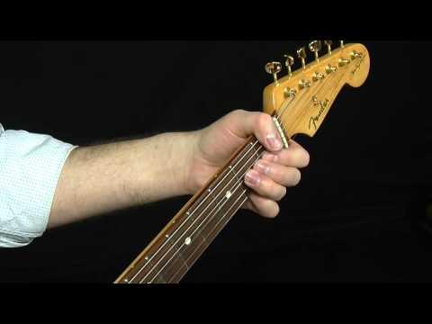 Hendrix Style Blues Rhythm Lesson
