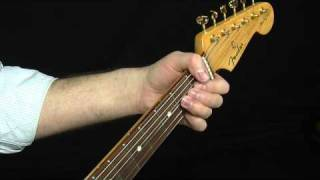 Hendrix Style Blues Rhythm Lesson