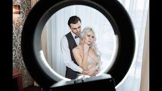 Свадебная фотосессия. Сборы жениха и невесты