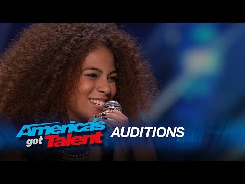 Samantha Johnson: Judges Give Standing Ovation for Aretha Franklin Cover - America's Got Talent 2015