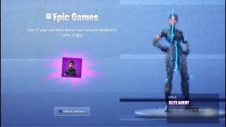 EPIC GAMES sent me a SPECIAL gift! (Fortnite Battle Royale Gift)