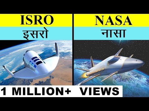 ISRO VS NASA in Hindi Full space agency comparison UNBIASED 2020 | इसरो बनाम नासा | India's top fact