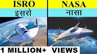 ISRO VS NASA in Hindi Full space agency comparison UNBIASED 2020 | इसरो बनाम नासा | India's top fact