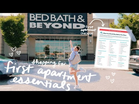 APARTMENT SHOPPING VLOG & HAUL   shopping for first apartment essentials   post-grad diaries ep.2