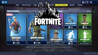 """SHOP"" 26/01 JANVIER NOUVELLE PEAU DE TENNIS - MISS VOL! QUOTIDIEN FORTNITE NEGOZIO"