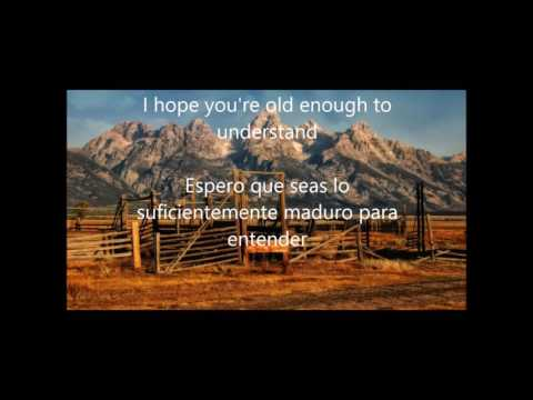 Kenny Rogers / The coward of the county (Lyrics- Letra) Subtitulado Español- Ingles