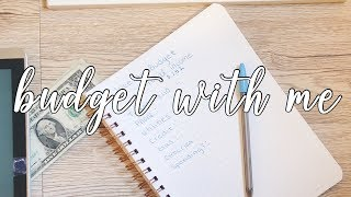 BUDGET WITH ME || weekly budget cash envelopes 2.0 Dave Ramsey Inspired