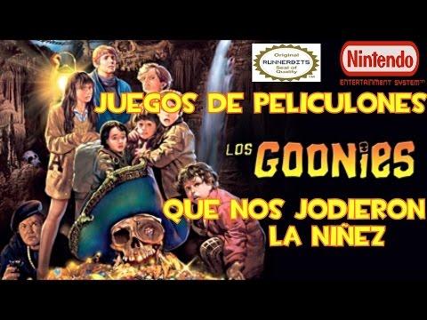 LOS GOONIES [NINTENDO NES] [JUEGOS DE PELICULAS QUE NOS JODIERON LA NIÑEZ]