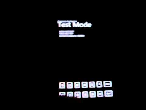 Samsung Omnia 7 Test/Diagnostic Menu