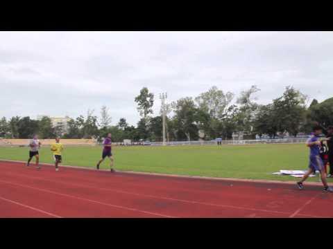การสอบแข่งขัน วิ่ง 1,000 เมตร เพื่อเข้าเป็นนักเรียนนายสิบ  ศูนย์ฝึกอบรมตำรวจภูธรภาค ๘