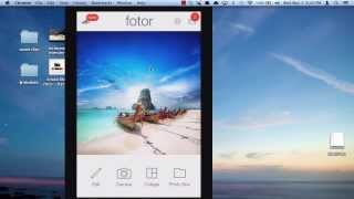 fotor Photo Editor for iPhone/iPad App